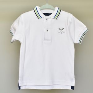Hartstrings Infant Boy Polo, 18 months, NWOT